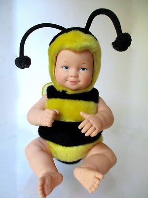 """Vintage 15"""" Anne Geddes Baby Bees Doll Bumble Bee 1998"""