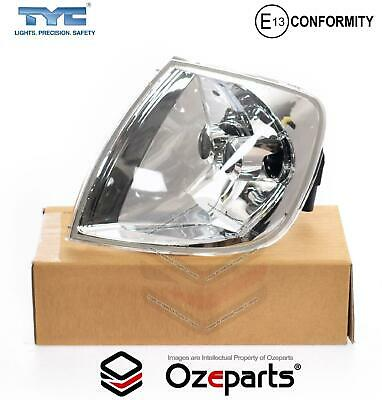 VW Volkswagen Polo 2000~2002 LH Left Hand Corner Light Indicator Lamp Clear Crys