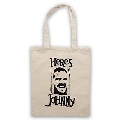 Here's Johnny Unofficial The Shining Kubrick Film Jack Tote Bag Life Shopper