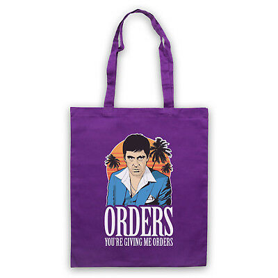 674ad488ee0 Scarface Unofficial Orders Tony Montana Scar Face Miami Tote Bag Life  Shopper
