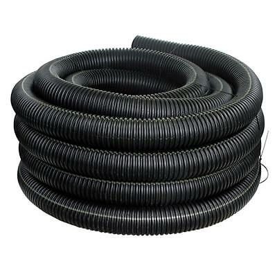 Corex Drain Pipe Solid, 4 in x 100 ft Made of High Density Flexible Polyethylene