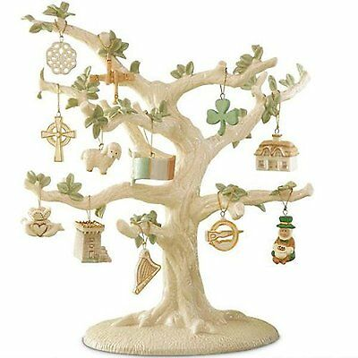 Lenox St. Patrick's Day Set of 12 Ornaments Luck of The Irish(Tree Not Included)