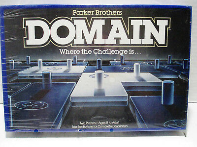 Parker Brothers 1983 Domain Vintage 2 Player Strategy Board Game New Old Stock