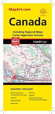 Canada Road Map 2019 Edition  - 1270 - MapArt- Brand New!