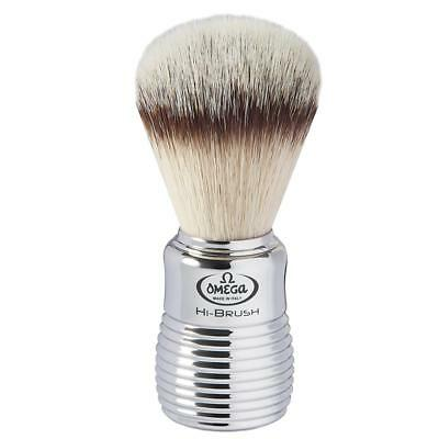 46113 Pennello Da Barba Omega In Fibra Sintetica Hi-Brush 46113 Shaving Brush
