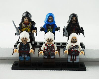 Minifigures Assassin's Creed Cormac Gift Kenway Firenze Dorian New Building Toys