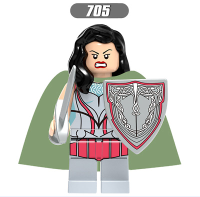 Sif Thor: Ragnarok Minifigures Journey into Mystery Compatible Building Toys