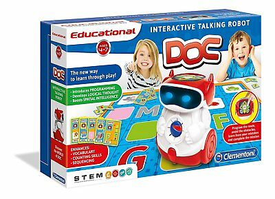 Doc Educational Smart Robot - Clementoni - Interactive Robot STEM Learning Toy