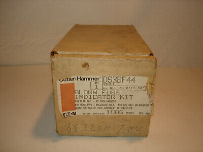 *NIB* Cutler-Hammer DS3BF44 Blown Fuse Indicator Kit *NIB*
