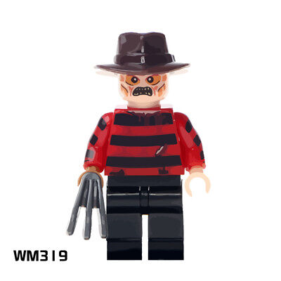 Freddy Rare A Nightmare on Elm Street Minifigures New Gift Building Toys