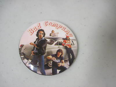 Bad Company Pin-Back Button 1979 Desolation Angels