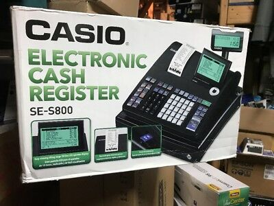 Casio SE-S800 Electronic Cash Register