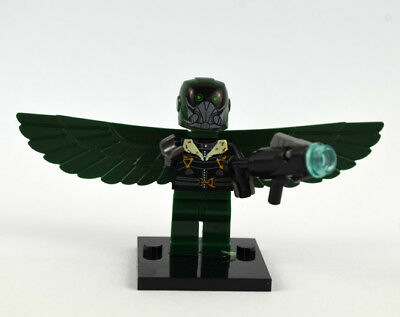 Spider Man Homecoming Movie Gift Super Heroes Vulture Mini figure Building Toy