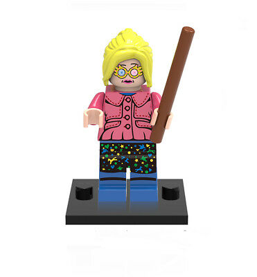 Minifigures Luna Lovegood New Harry Potter Gift Movie Evanna Lynch Building Toys