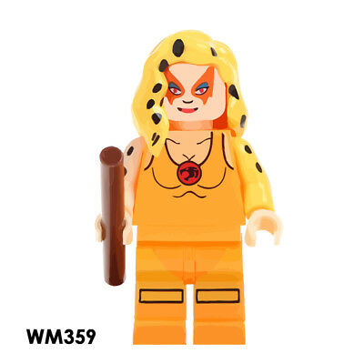 Cheetara Collectible Gift Cartoon New Minifigure Thundercats Rare Building Toys