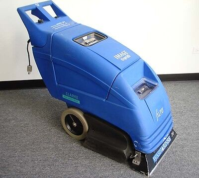 Clarke Image 20Ix Carpet Extractor, 120V, Used, Very Nice Condition