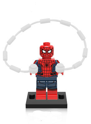 Spider Man Homecoming Minifigure Super Heroes Peter Parker Movie Building Toy