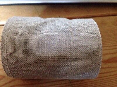 Half metre Zweigart Linen Band For Cross Stitch Embroidery 72022/53 80mm wide