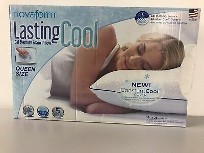 Memory Foam Pillow With Cool Gel Queen Size Cad 44 99