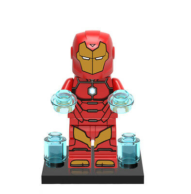 Minifigures Avengers Iron Man Collectible Tony Stark Super Heroes Building Toys