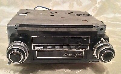 Vintage Gm Am/fm Stereo 8-Track Player