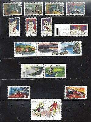 Canada SELECTION OF SETS USED (BS10660)