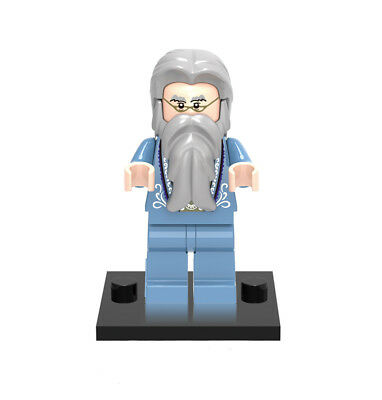 Minifigures Professor Harry Potter Albus Dumbledore Richard Harris Building Toys