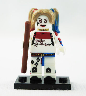 Minifigures New DC Comics Margot Robbie Harley Quinn Super Villain Building Toys