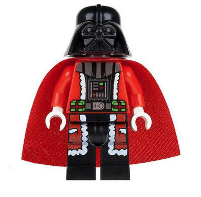 Minifigures Star Wars Christmas Anakin Skywalker Santa Darth Vader Building Toys