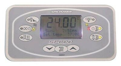 Davey Spa Power Touchpad Control SpaPower SpaQuip SP800 incl. Decal Rectangular