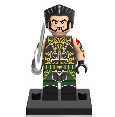 Ra's Al Ghul Minifigures Rare Collectible League of Assassins Building Toys