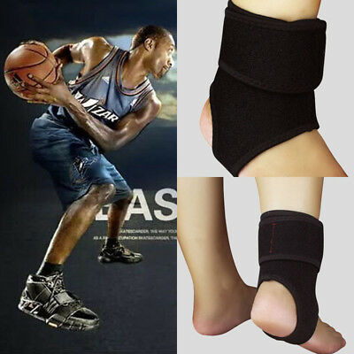 Sports Pain Relief Compression Ankle Brace Support Stabilizer Foot Wrap Elastic