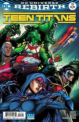 Teen Titans #13 Hardin Variant Rebirth Dc Comics Near Mint 10/25/17