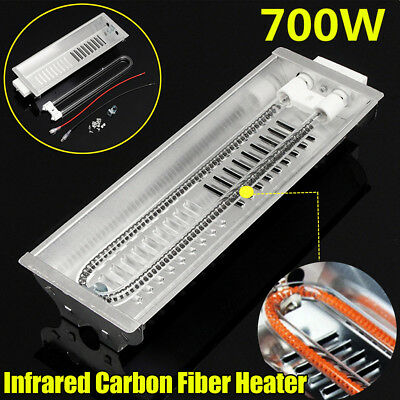 700w  Infrared Spray Paint Heating Curing Lamp Carbon Fiber Baking Booth Heater