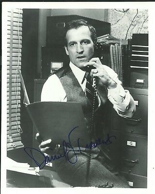 """Hill Street Blues"" Daniel J. Travanti Autographed 8X10-COA"