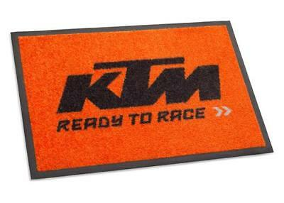 KTM KTM DOORMAT Black/Orange
