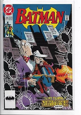 Batman #475 (Mar 1992, DC) key issue 1st app- the question [r.montoya]