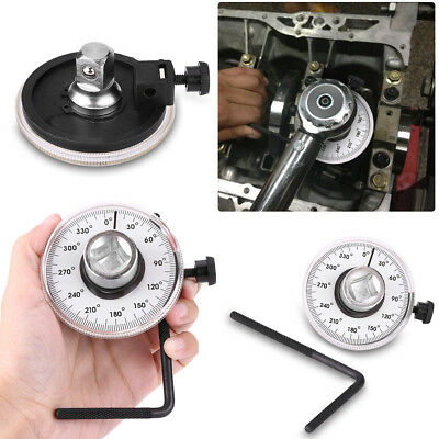 Adjustable 1/2'' Drive Torque Wrench Angle Gauge Angle Rotation Car Garage Tools
