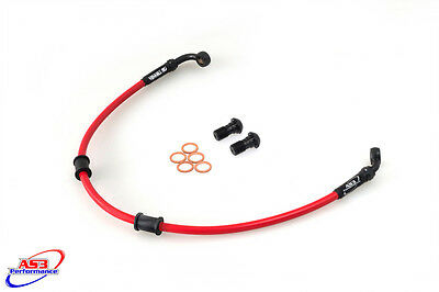 Honda Cbr 929 954 Rr Fireblade 2000-03 As3 Venhill Braided Rear Brake Line Hose