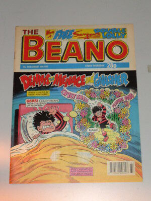 Beano #2613 15Th August 1992 British Weekly Dennis The Menace