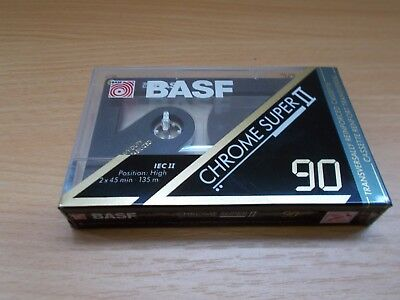BASF Chrome super II Neu & OVP / Sealed Kassette Tape