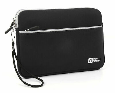 Black Durable Neoprene Case For Use With Samsung Galaxy Tab Active 2 Tablet