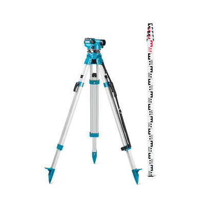 Geo Fennel EcoLine ELN24 Auto. Optical Level Inc Tripod & Staff - Calibrated
