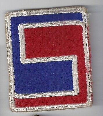 Original WW2 Patch - 69th INFANTRY DIVISION - WWII Shoulder US Army Military