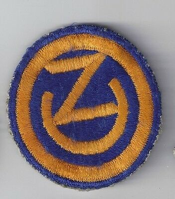 Original WW2 Patch - 102nd INFANTRY DIVISION - WWII Shoulder US Army Military