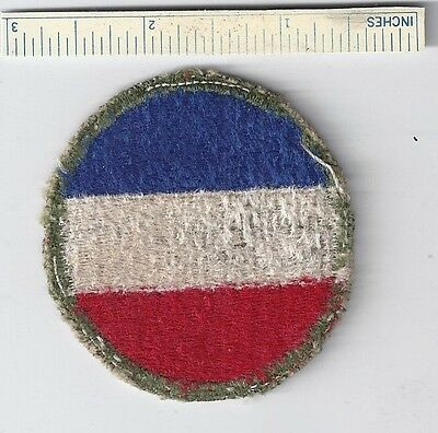 Original WW2 Patch - ARMY GROUND FORCES - WWII Shoulder Military USA US Units