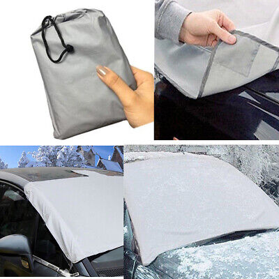 Car/Van Magnetic Windscreen Cover Frost Snow Ice Sun Dust View Protector Shade