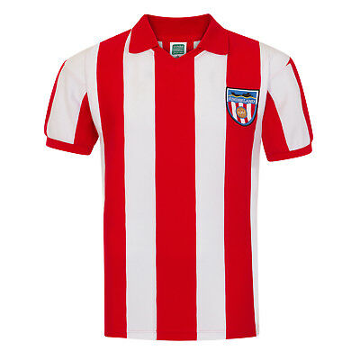 Sunderland AFC Official Football Gift Mens 1978 Retro Home Kit Shirt