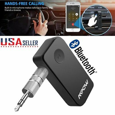 MPOW Bluetooth Wireless In Car Kits Wireless Adapter FM Radio Transmitter Car US