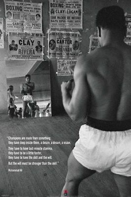 Muhammad Ali Champions are Made from Something Posed Maxi Poster 61 x 91,5 cm